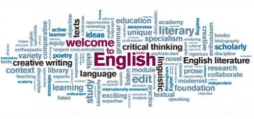english department welcome